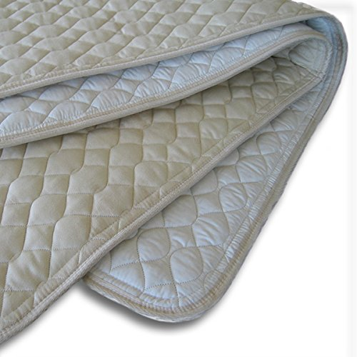 ProMagnet Magnetic Mattress Pad All Natural Cotton - Travel Pad