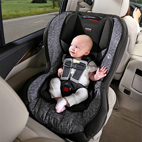 51VjnzqTeFL - Britax Allegiance 3 Stage Convertible Car Seat   1 Layer Impact Protection - Rear & Forward Facing - 5 To 65 Pounds, Azul