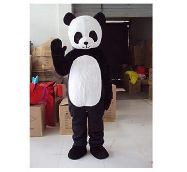 Adult bear costume panda mine