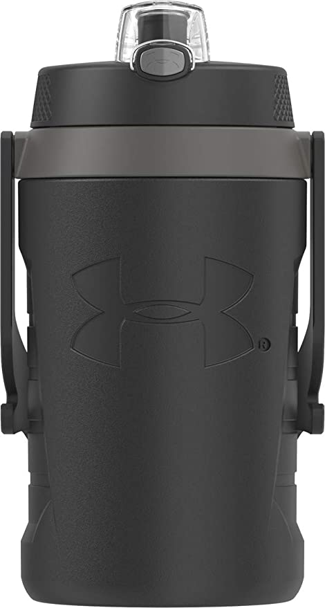 Under Armour Sideline - Botella para Agua Negro 1 8 l