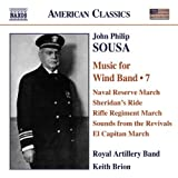 Sousa: Music for Wind Band, Vol. 7