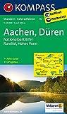 Aachen, Düren, Nationalpark Eifel, Rureifel, Hohes Venn: Wanderkarte mit Aktiv Guide und Radwegen. GPS-genau. 1:50000 (KOMPASS-Wanderkarten, Band 757)