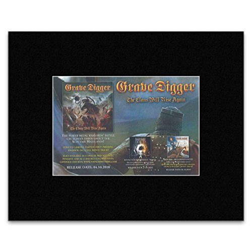 (Stick It On Your Wall GRAVE DIGGER - The Clans Will Rise Again Mini Poster -)