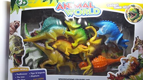 Dinosaurio en Caja 8 Dinosaurios Mundo Animal recogerlos a Todos ...