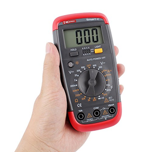 DMiotech Digital Multimeter Multi Tester Capacitance Test