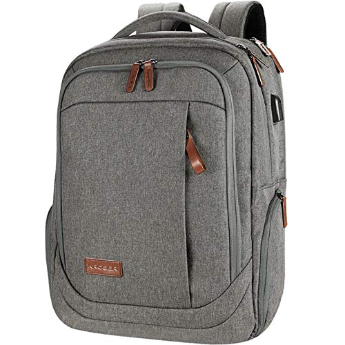 KROSER Laptop Backpack Water-Repellent Large Computer Backpack School Bag