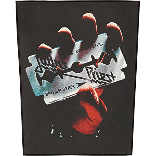 [해외]Judas Priest Ruckenaufnaher 백팩 # 4 British Steel/Judas Priest Ruckenaufnaher   Backpatch # 4 British Steel