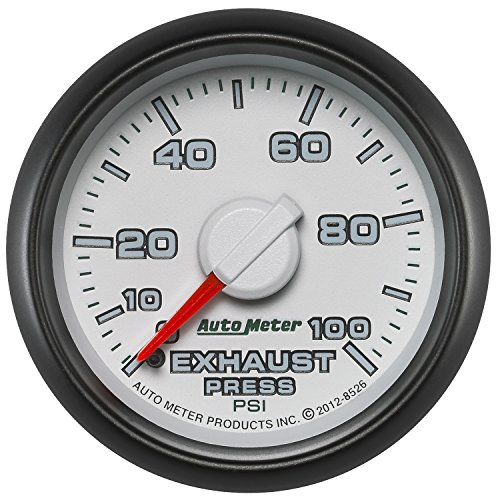 Auto Meter (8526) Dodge Match 2-1/16'' 0-100 PSI Mechanical Exhaust Pressure Gauge by Auto Meter (Image #4)