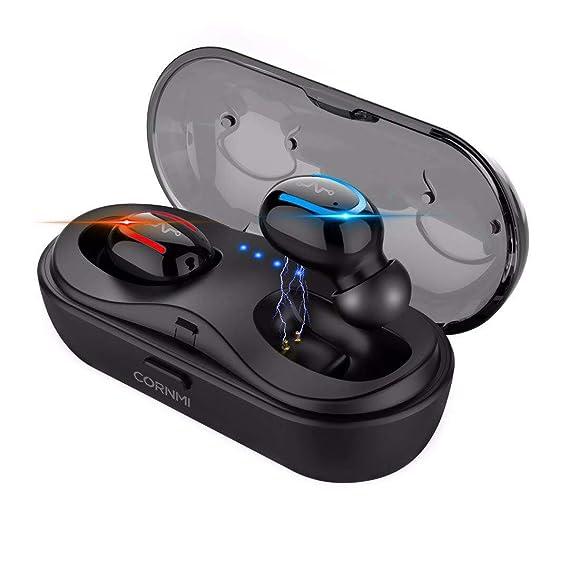 2736d3a2606 True Wireless Earbuds,Wireless Headphones,Stereo Bluetooth 5.0 Earphones  for Running,Mini Bluetooth