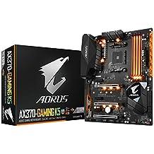GIGABYTE AORUS GA-AX370-Gaming K5 (AMD Ryzen AM4/ X370/ RGB FUSION/ SMART FAN 5/ HDMI/ M.2/ USB 3.1 Type-C/ ATX/ DDR4/ Motherboard)