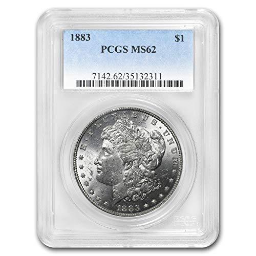 1883 Morgan Dollar MS-62 PCGS $1 MS-62 PCGS