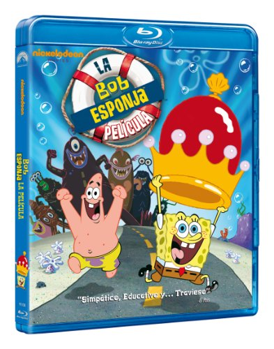 Bob Esponja: La Película (Blu-Ray) (Import Movie) (European Format - Zone B2) (2013) Personajes Animados; Step