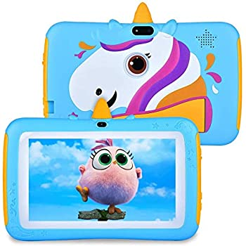 Pill for Youngsters 7 inch Youngsters Pill, 2GB RAM 16GB ROM, Android 9.0 Pill, IPS HD Show, Dad or mum Management,Child-Proof, Google Licensed Playstore, WiFi,Android Pill, Blue
