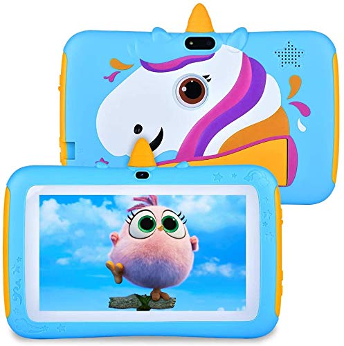 Tablet for Kids 7 inch Kids Tablet, 2GB RAM 16GB ROM, Android 9.0 Tablet, IPS HD Display, Parent Control,Kid-Proof…