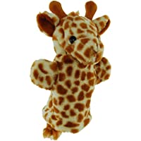 Elka Australia 1212 Puppet Giraffe Puppet Toy, 25 Centimeters