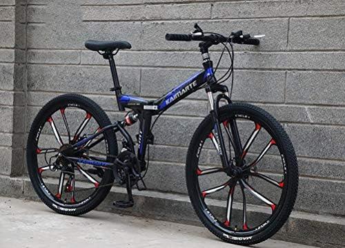 Tbagem-Yjr Plegable Bicicleta De Montaña 26 Pulgadas Ruedas ...