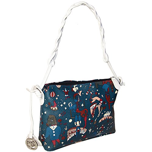 Piero Guidi borsa tracolla piccola Magic Circus Soft 210234038.49 blu, 22x19x8