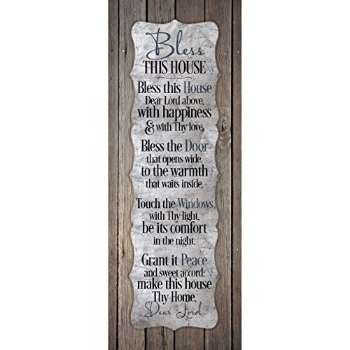 Bless This House...New Horizons Wood Plaque