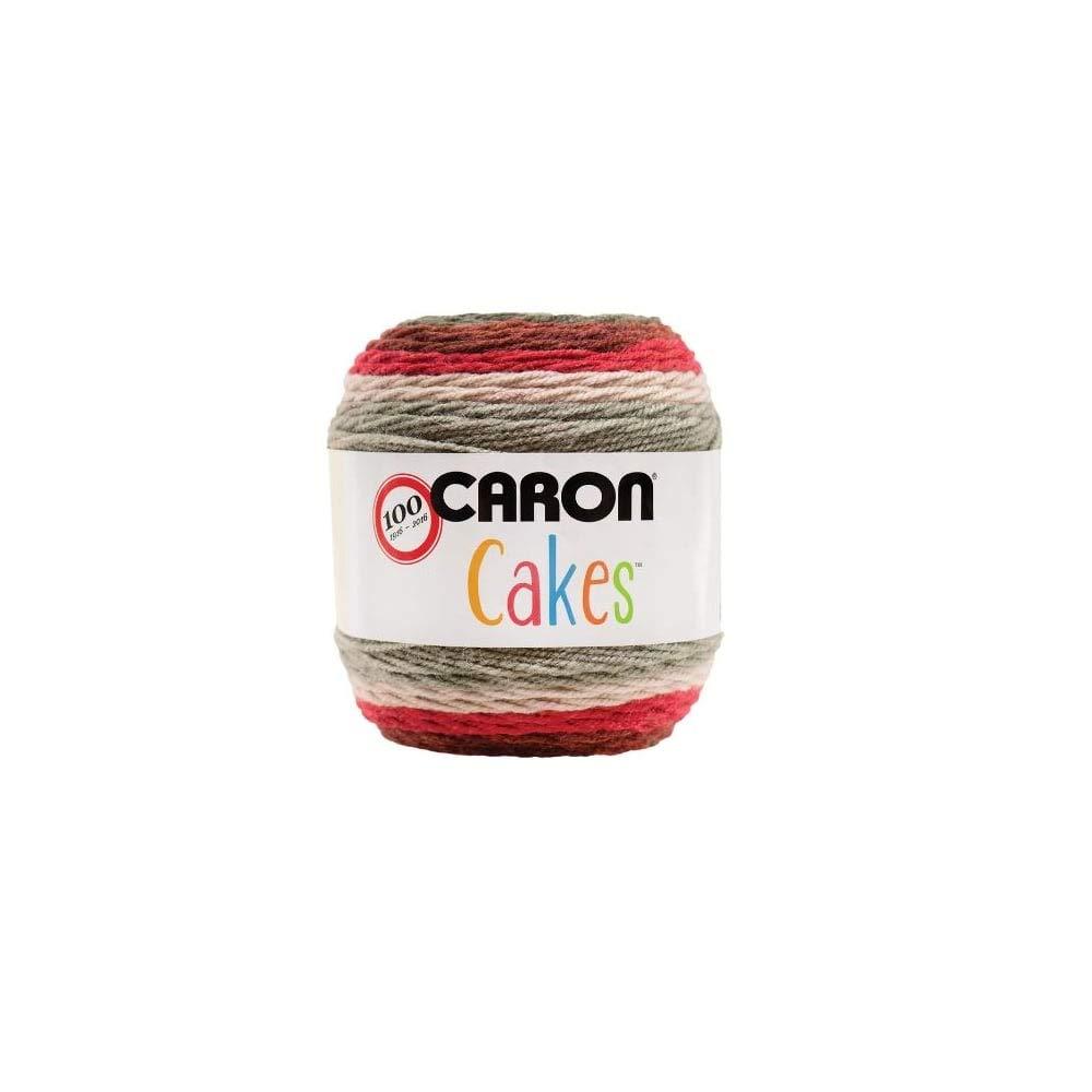 19 x 15 x 15 cm Caron Cakes Acrylic Red Velvet