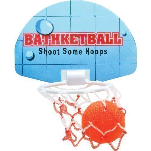 Bath Basketball Hoop Bath Games - Comes with 3 balls - Shoot some hoops by Mammoth XT Supplements
