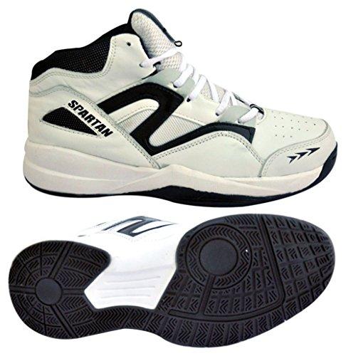 Spartanische Basketballatlas-Schuhmänner `S Sportswear Lederne Schuhe Wählen Größe