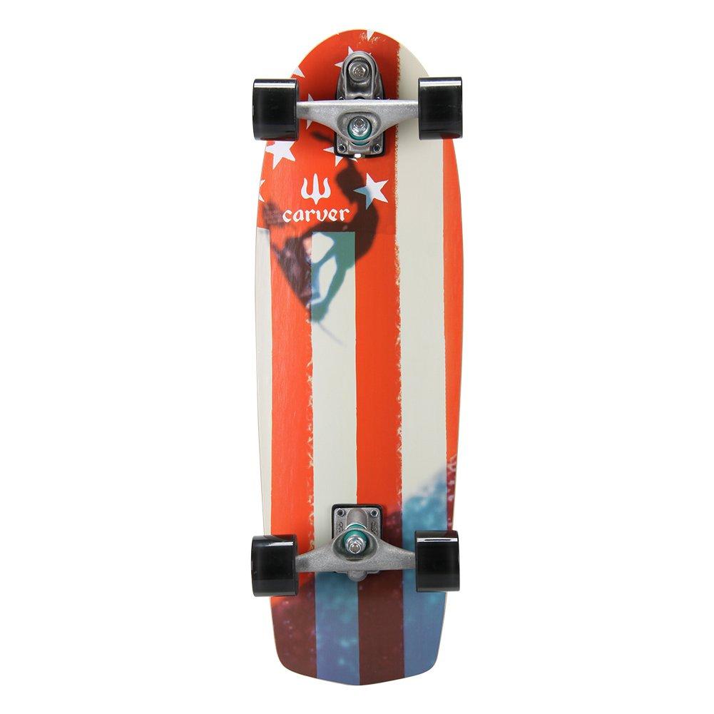 【正規品直輸入】 Carver Skateboards Carver [ カーバースケートボード Skateboards ] C7 Complete 30.75 Amber Amber Flag アンバーフラッグ並行輸入品 B00T8X69LE, マタハリ:c1d202cb --- a0267596.xsph.ru