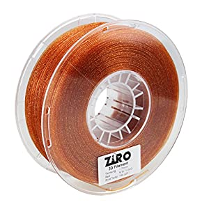 ZIRO 3D Printer Filament PLA 1.75mm Twinkling Color Series 1KG(2.2lbs), Dimensional Accuracy +/- 0.05mm by ZIRO