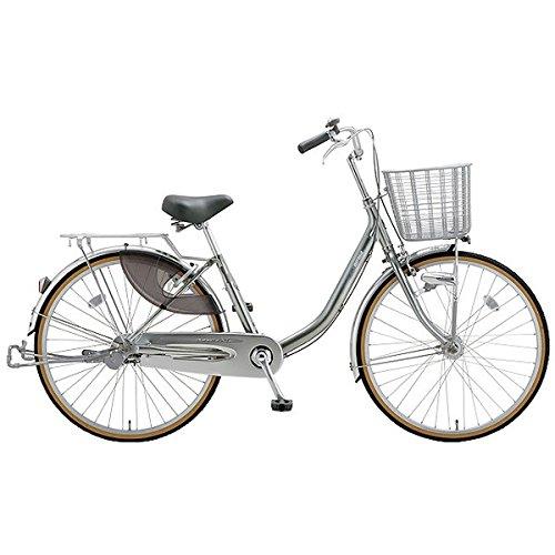 ミヤタ(MIYATA) シティサイクル 自転車 クォーツエクセルライト DQXU40L8 (OS68) ミラーシルバー B077NT1GVS