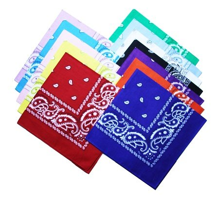 12pcs-Bandanas-22-X-22-Inch-100-Cotton-Novelty-Double-Sided-Print-Paisley-Cowboy-Bandana-Party-Favor-Scarf-Headband-Handkerchiefs