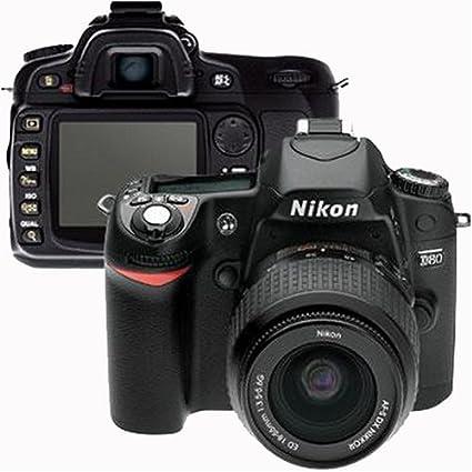 amazon com nikon d80 10 2mp digital slr camera kit with 18 55mm ed rh amazon com Nikon D80 Cesky Manual Nikon D80 Manual Mode