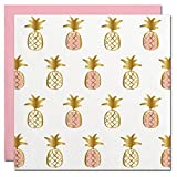 Pineapple Foil Design Cocktail Party Napkins – 20 Count For Sale
