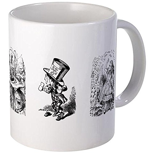 CafePress - Tenniel Alice Mugs - Unique Coffee Mug, Coffee Cup