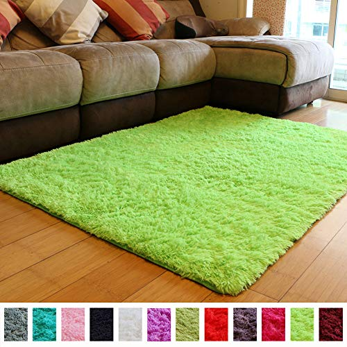 PAGISOFE Soft Boys Girls Room Rug Baby Nursery Decoration Carpet 4