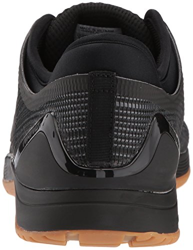 Reebok Women's CROSSFIT Nano 8.0 Flexweave Cross Trainer, Black/Alloy/Gum, 7.5 M US