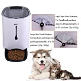 WOPET Automatic Pet Feeder Food Dispenser for