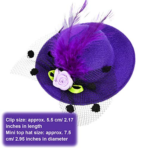 Buy mini hats with clips