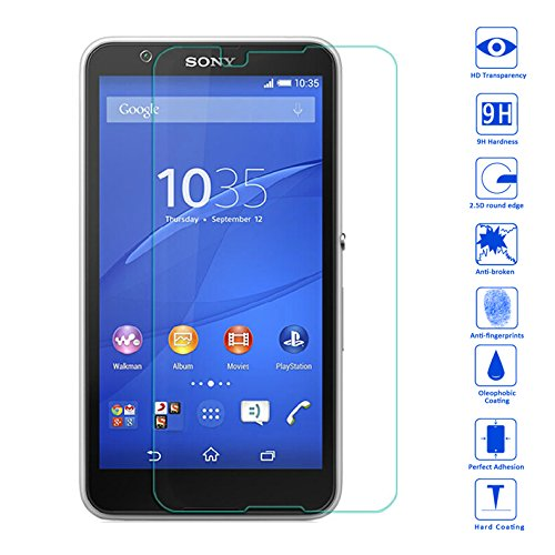 Tempered Glass For Sony Xperia E4 - 2