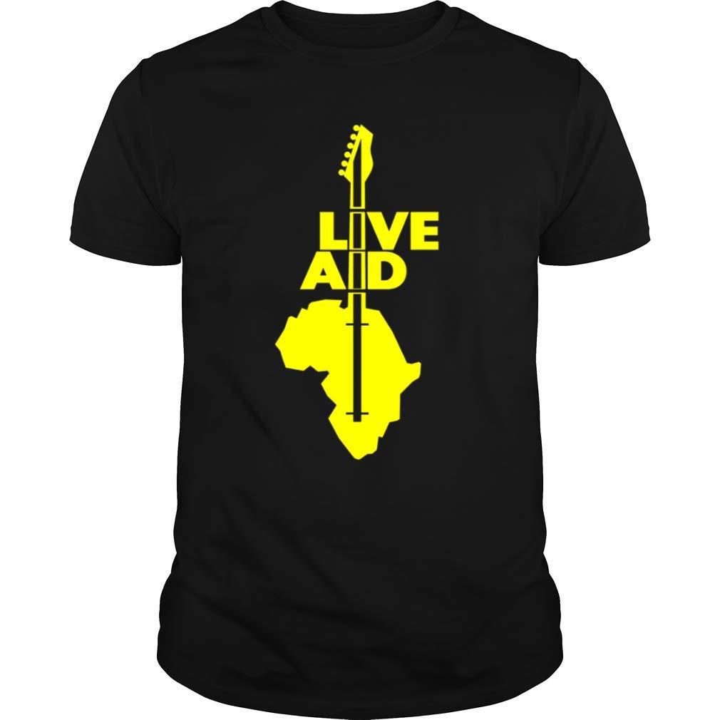 Live Aid Shirt Rock Concert 1985 T Shirt