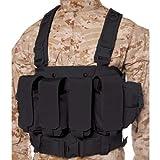 BLACKHAWK! Commando Chest Harness - Black