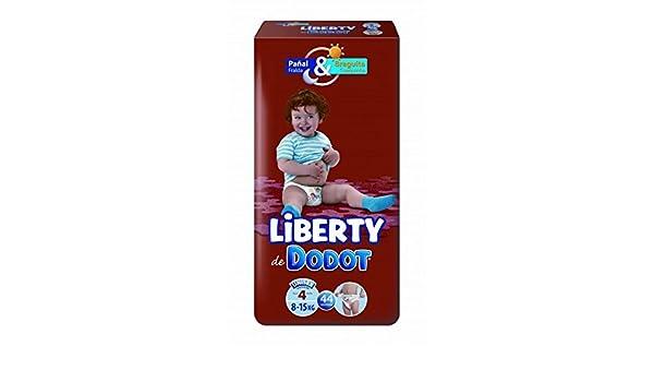 Dodot - Pañales Dodot Liberty Plus T4 44 uds: Amazon.es: Salud y cuidado personal