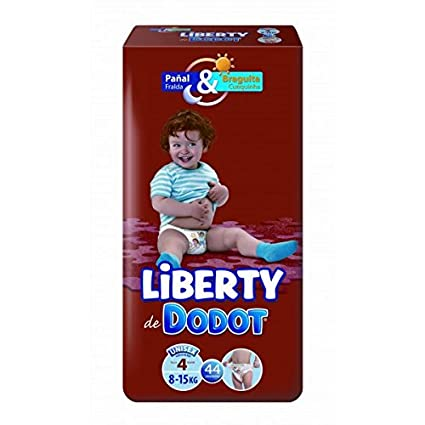 Dodot - Pañales Dodot Liberty Plus T4 44 uds