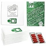 numatic nrv200 - Numatic NRV200T NRV200 Vacuum Cleaner Hepa-FLO SMS Bags (Pack of 10 + 10 Fresheners)