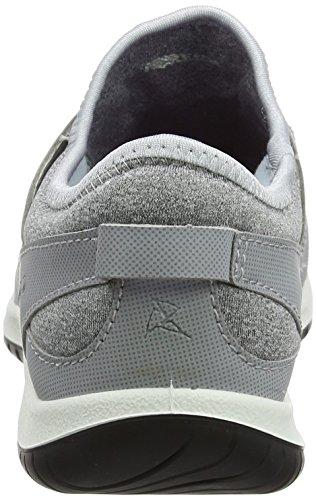 Zapatos Gris Mujer Senderismo Silver Grey para Rise Ecco Low de Grey Aspina Silver gqyc5wy4S