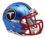 NFL Tennessee Titans Alternate Blaze Speed Mini Helmet