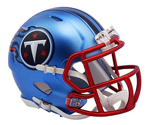 NFL Tennessee Titans Riddell Alternate Blaze Speed Full Size Replica Helmet by Riddell