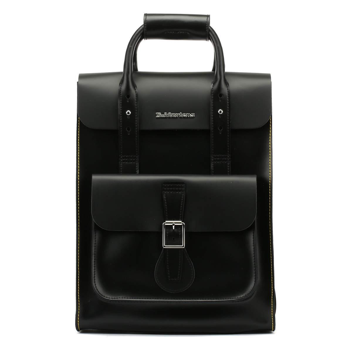083f6b71977e1 Dr Martens Block Logo Mens Backpack Black