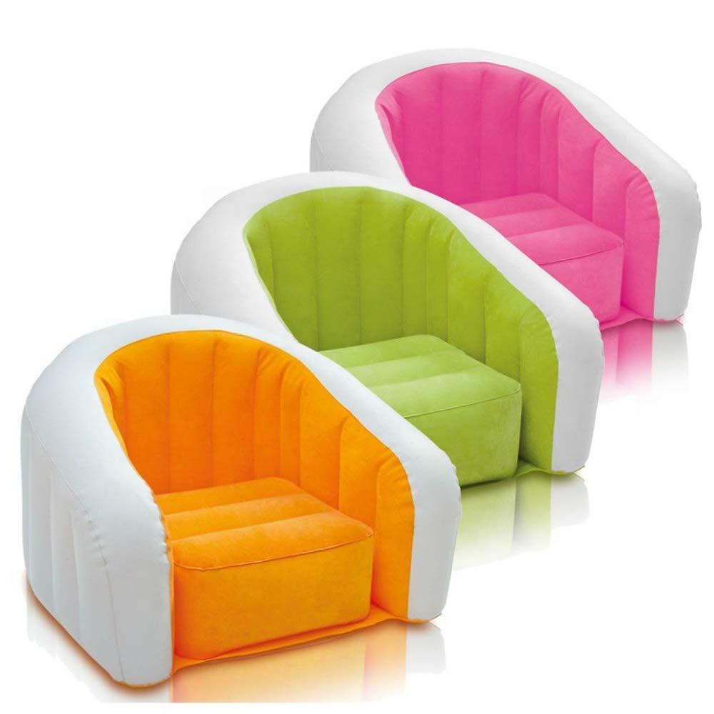 Customized Good Quality PVC Cheap Flocked Inflatable air Sofa