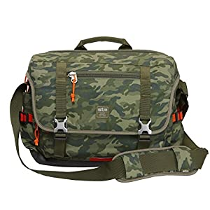 STM Trust, Laptop Shoulder Bag for 15-Inch Laptop - Green Camo (stm-112-034P-36)