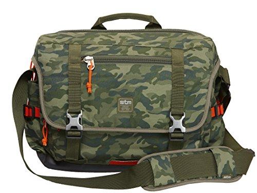 STM Trust, Laptop Shoulder Bag for 15-Inch Laptop - Green Camo (stm-112-034P-36) by STM