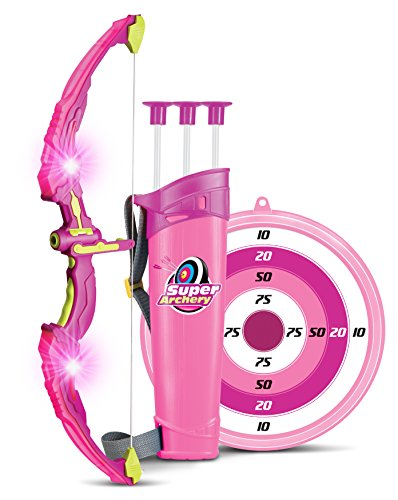 Light Up Princess Archery Bow and Arrow Toy Set